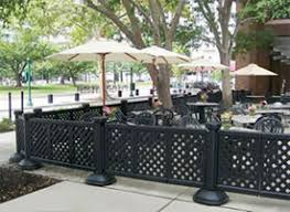 restaurant patio fence. Simple Restaurant Throughout Restaurant Patio Fence L