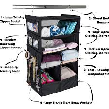 suitcase organizer durable portable travel ng system hanging luggage cube
