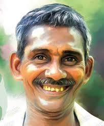 Digital Portrait Painting 3 Kerala Art Gallery