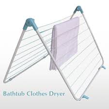bathtub clothes dryer bathtub rack clothes drying rack
