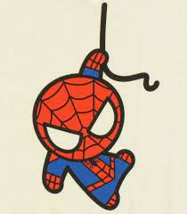 spider man cartoon face drawings page