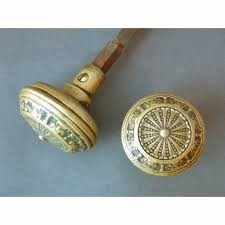 Unique Antique Brass Front Door Knobs Single Pair Of Solid Entry Throughout Design Decorating