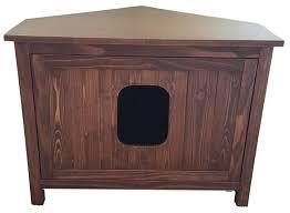 meow town mdf litter box. Odor Free Corner Cat Litter Box Cabinet. Meow Town Mdf X