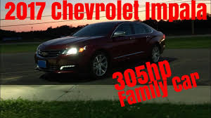 2017 Chevy Impala Premier V6 - 0-60 & Review - YouTube
