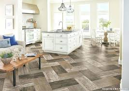 vinyl plank flooring transitional with kitchen herringbone floor sheet floo