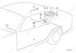 Parts list is for bmw 5' e34 540i sedan ece