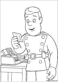 Brandweerman Sam Kleurplaten Kleurplateneu