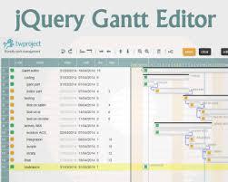Gantt Chart Javascript Jquery Jquery Gantt Editor Jquery Gantt Editor Json Js
