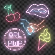 neon sign png vector psd and clipart
