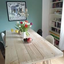 Diy Projekt Ein Tisch Aus Baudielen Garten Baudielen Diy