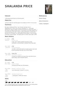 Lpn Sample Resume Resume Templates