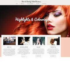 Hair Saloon Websites Our Websites Concepts Easyclick Websites Affordable Web Hosting