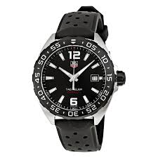 tag heuer formula 1 black dial black rubber men s watch waz1110 tag heuer formula 1 black dial black rubber men s watch waz1110