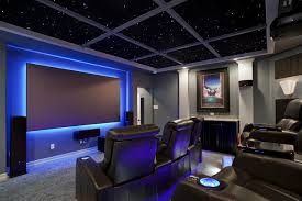 home theater lighting ideas. Home Theater Lighting - Ambient Backlighting Ideas A