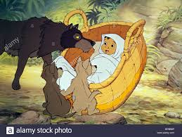 wolves baby mowgli the jungle book 1967