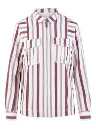 Zadig And Voltaire Size Chart Zadig Voltaire Striped Cotton Overshirt