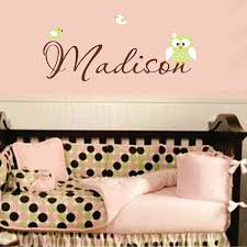 25 personalized wall decals for nursery wall decals for nursery wall letter decals for nursery