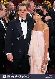 Matt Damon e la moglie _126 - 82Academy Awards arrivo presso il Kodak  Theatre di Los Angeles.