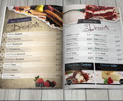 Resturant Menu Template 18 Restaurant Menu Design Templates