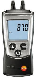 digital manometer. testo 510 digital manometer