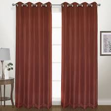 herringbone geometric blackout grommet single curtain panel