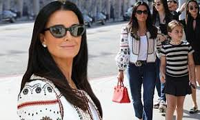 Kyle Richards enjoys family time in Beverly Hills with daughters Alexia,  Sophia and Portia | Daily Mail Online