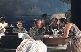 Salah satu adegan di film Guru bangsa Tjokroaminoto | Jawapos