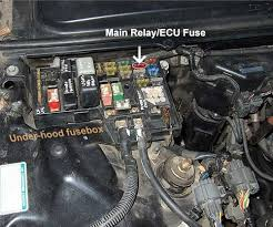 i replaced the fuel filter, fuel pump and main relay on my 1991 honda accord brake light fuse location at 91 Accord Fuse Box