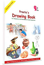 preeta s drawing book for elementary and interate grade examinations first edition