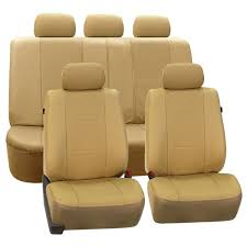 highest grade faux leather seat covers full set