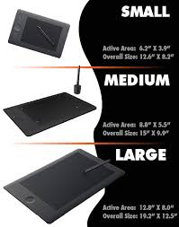 Wacom Comparison Chart Wacom Intuos5 Review The Best Graphic Tablets