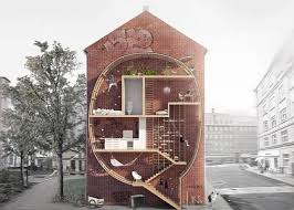 Small Picture Skinny micro housing designs lets you live between buildings