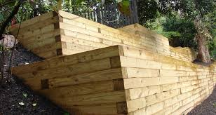 wood retaining walls