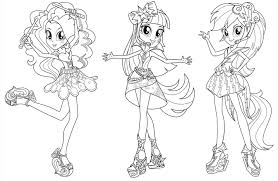 Friendship is magic series products and pictures are absolute favorites of little girls. Equestria Girls Coloring Pages Best Coloring Pages For Kids