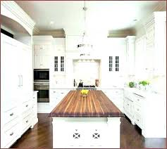small butcher block island kitchen with top how to build a butcher block island
