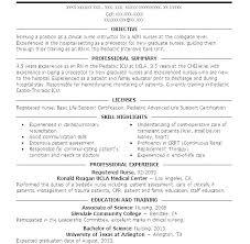 Examples Of Nursing Resumes Nursing Resume Templates Best Example ...