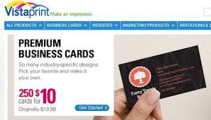 vistaprint free business cards review