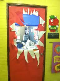 office christmas door decorations. Christmas Door Decorations Contest Teachers Spread Holiday Cheer With Decorating . Office A