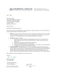 contract letter business agreement sample letter www researchpaperspot com