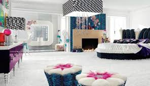 bed in the centre design ideas for small teenage girls room