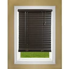 cordless faux wood blinds blinds the home depot