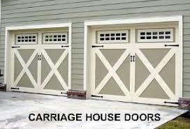 barn door garage doorsCrossbuck Doors Barn  Carriage House Garage Doors