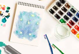 in this article spray paint art for children