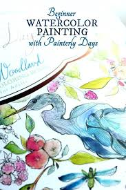 watercolor coloring books beginner watercolor painting with