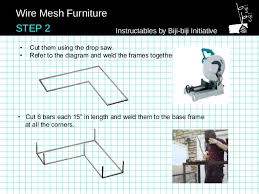 wire mesh furniture wire mesh furniture 4 step 1 instructables by biji biji initiative 4
