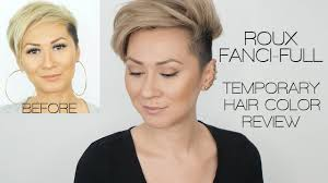 Roux Fanci Full Temporary Hair Color Rinse Review