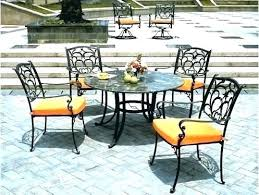 outdoor wrought iron furniture. Wrought Iron Bistro Chair Cushions Unique Outdoor Furniture Patio Pictures H