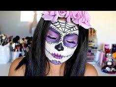 day of the dead mexican sugar skull makeup tutorial lolo love you