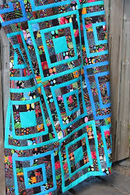 Top 173 ideas about Quilts on Pinterest   Quilt, Sew and Quilting & That tone of blue just FLOATS in front of whatever other colors you use it  with. Scrap quilt, with tutorial, at Quilting is more fun than Housework Adamdwight.com