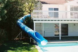 residential pools with slides. Perfect Slides Pool Slide Water 150 And Residential Pools With Slides N